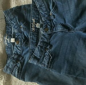 Cat & Jack Girl's Jeans • Size 8  (2 Pair)